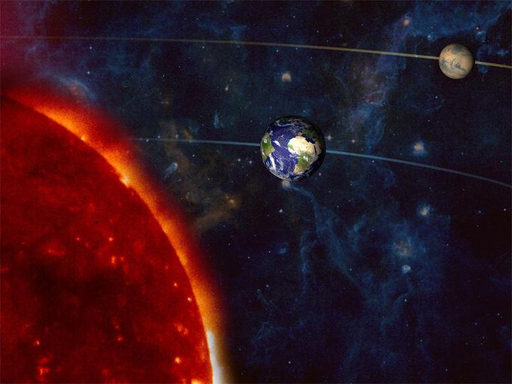 Суперяркий Марс появится в небе этой весной