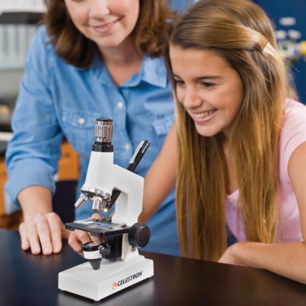 Celestron Microscope Kit, микроскоп для начинающих