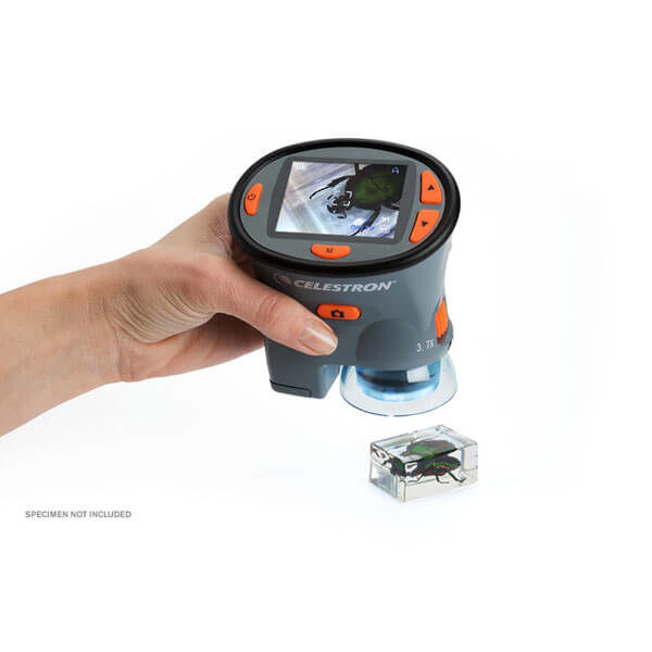 Celestron Portable LCD, портативный цифровой микроскоп с LCD-экраном