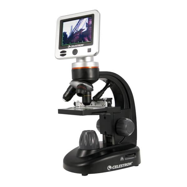 Celestron LCD Digital Microscope II, цифровой микроскоп с LCD-экраном