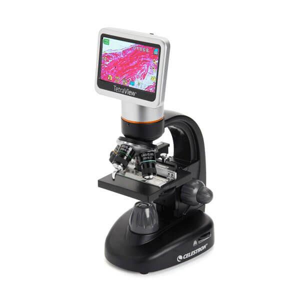 Celestron TetraView LCD Digital, Цифровой микроскоп с сенсорным LCD-экраном