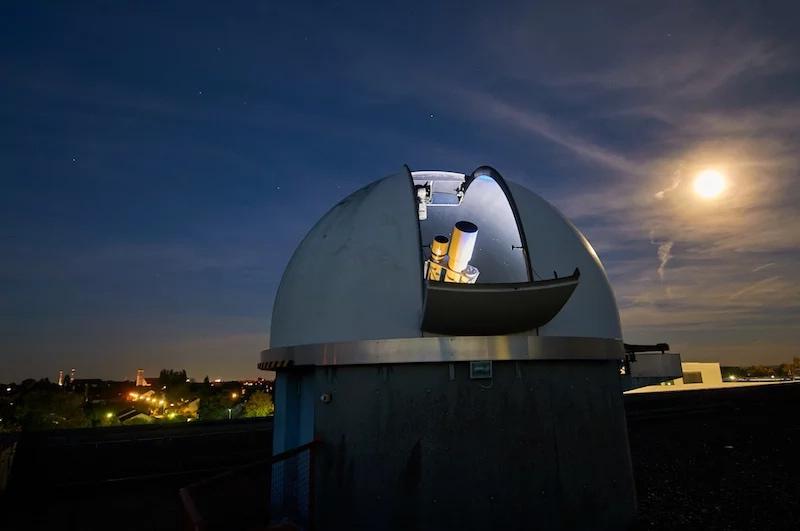 Обсерватория в Талдыкоргане оснащенная телескопом Celestron.
