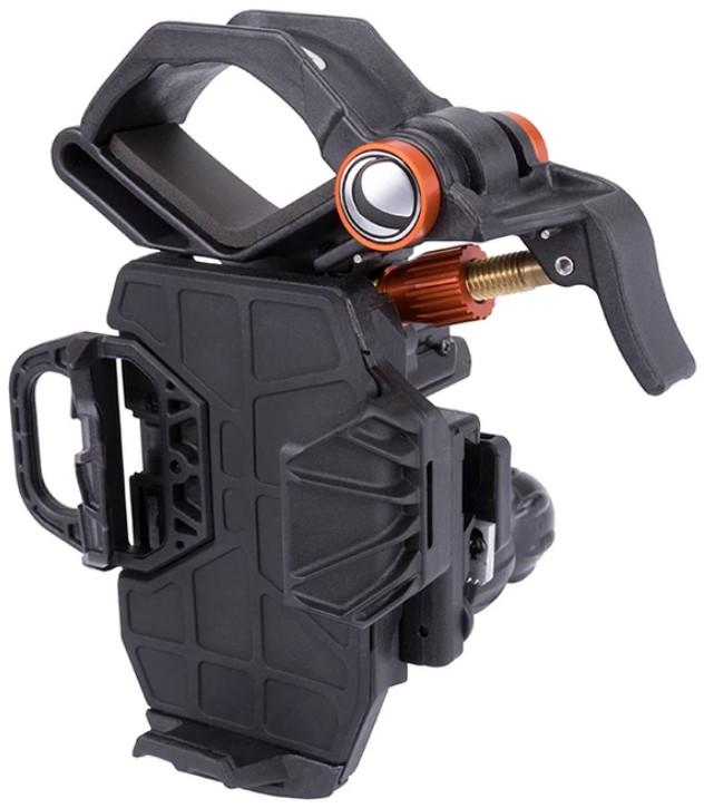 Nexis 3, крепление смартфона к телескопу.