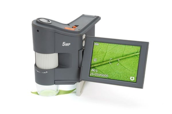 FlipView LCD, портативный цифровой микроскоп
