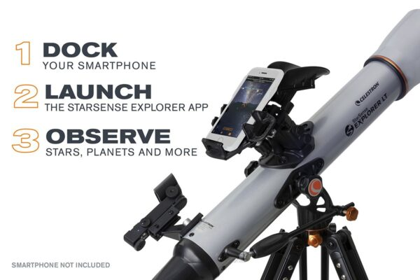 Телескоп Celestron StarSense Explorer LT 80AZ